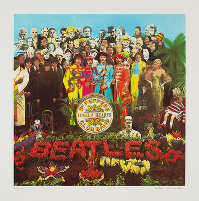 Peter Blake, 'Sergeant Pepper's Lonely Hearts Club Band', 2007