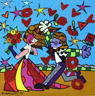 Romero Britto, 'From The Sky', 2015