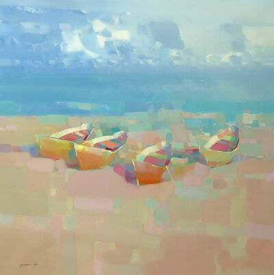 Vahe Yeremyan, 'Fishing Boats', 2019
