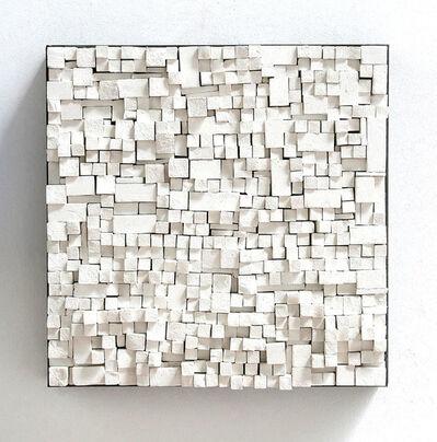 Reiner Seliger, 'Kreidebild weiß, klein', 2012