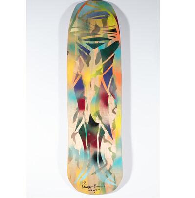 Skip Engblom, 'Skip Engblom Skateboard Deck, Skeleton', 2017