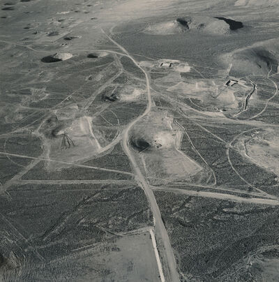 Emmet Gowin, 'Subsidence Craters of Six Underground Tests Including Armada, Dauphin, Cebrero, Teleme, Kesti, and Leyden; Looking North, Yucca Flat, Area 7, Nevada Test Site', 1996