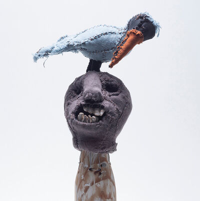 Samuelle Richardson, 'Head with Bird 1', 2018
