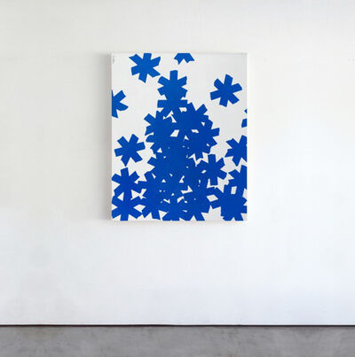 Matthew Heller, 'Blue Asterisks', 2018
