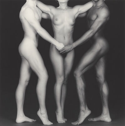 Robert Mapplethorpe, 'Ken and Lydia and Tyler', 1985