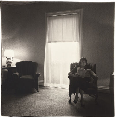 Diane Arbus, 'Lady in a rooming house parlor, Albion, NY', 1963