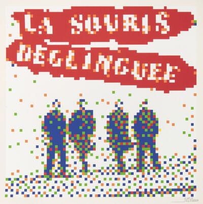Invader, 'La Souris Deglinguee', 2014