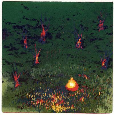 YU Ya-Lan, 'Wildfire', 2014