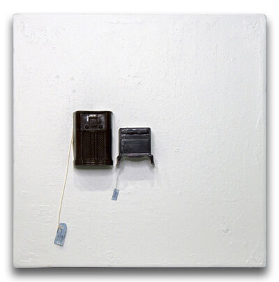 Liliana Porter, 'For Sale (with Brown Radio)', 2018