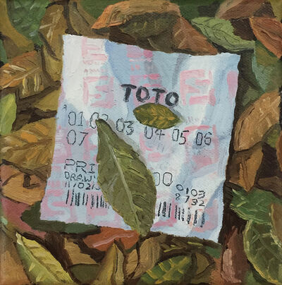 Yeo Tze Yang, 'Lottery Ticket', 2019