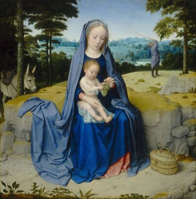 Gerard David, 'The Rest on the Flight into Egypt', ca. 1510