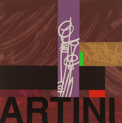 Bruce McLean, 'Room for a mean Martini', 1997