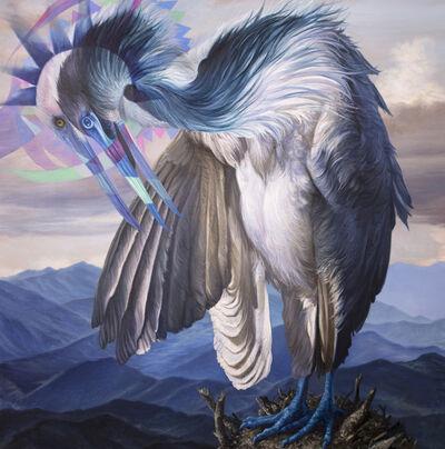 Angela Gram, 'White Egret', 2019