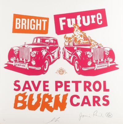 Shepard Fairey, 'Bright Future (Pink & Orange)', 2012