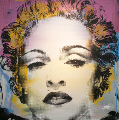 Mr. Brainwash, 'Madonna', 2012