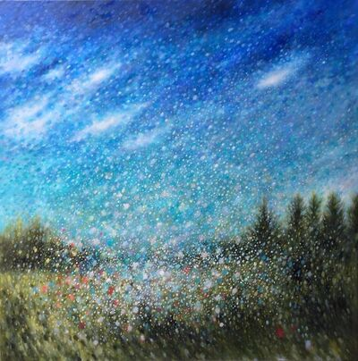 Sheri Bakes, 'Summer Storm/ Cranberry Farm', 2019