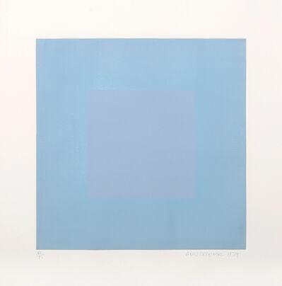 Richard Anuszkiewicz, 'Light Blue with Light Blue', 1979