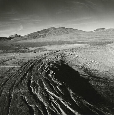 Emmet Gowin, 'Soil Fractures Draped with Fiber-Optic Cable Along the Rim of a Collapsed Subsidence Crater, Yucca Flat, Area 2, Nevada Test Site', 1997