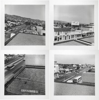 Ed Ruscha, 'Rooftops', 1961/2004