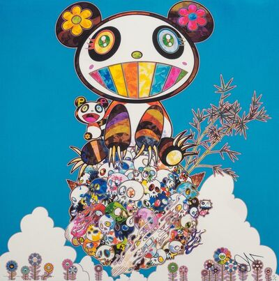 Takashi Murakami, 'The Pandas Say They're Happy', 2014