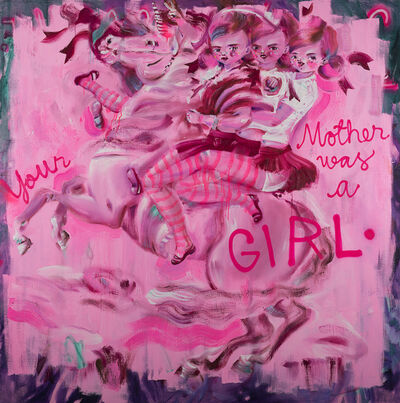 Katja Tukiainen, 'Your mother was a GIRL', 2018