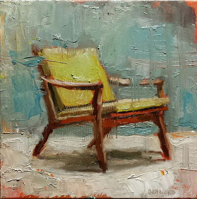 Bradford J. Salamon, 'Green Chair', 2017