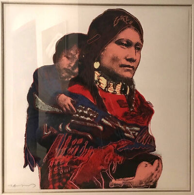 Andy Warhol, 'Mother and Child, from Cowboys and Indians Trial Proof (TP)', 1986