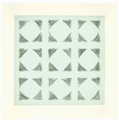 Kim Lim, 'Green Etching', 1969