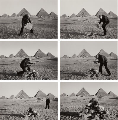 Duane Michals, 'I Build a Pyramid', 1978