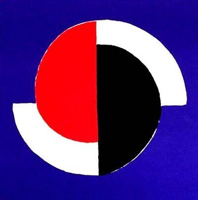 """Sonia Delaunay, 'Original Lithograph """"Composition III"""" by Sonia Delaunay', Circa 1960"""