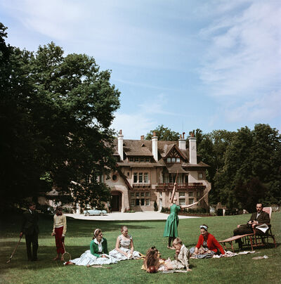 Slim Aarons, 'Manoir du Coeur Volant, Louveciennes (Slim Aarons Estate Edition)', 1965