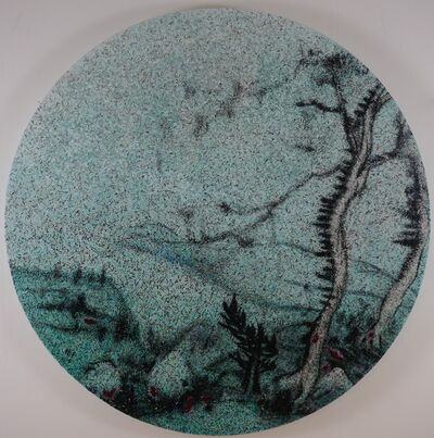 Yang Qian 杨千, 'Landscapes and Magazine Sherd no.11', 2014