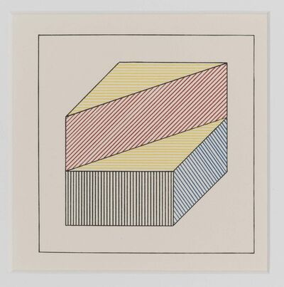 Sol LeWitt, 'Twelve forms derived from a cube', 1984