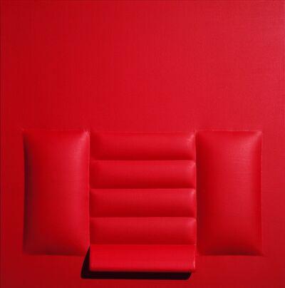 Agostino Bonalumi, 'Rosso', 1963