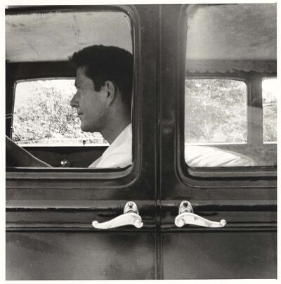 Robert Rauschenberg, 'Untitled [John Cage, Black Mountain]', 1952