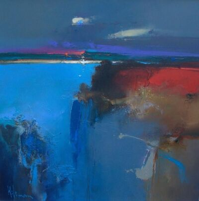 Peter Wileman, 'Pale Moon Rising', 2018