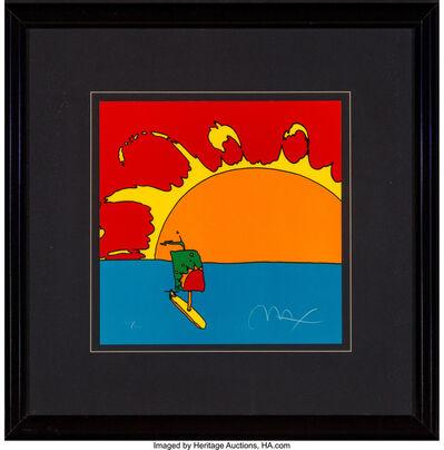 Peter Max, 'Sunset Sailing', 1997
