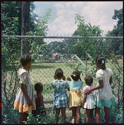 Gordon Parks, 'Outside Looking In, Mobile, Alabama', 1956