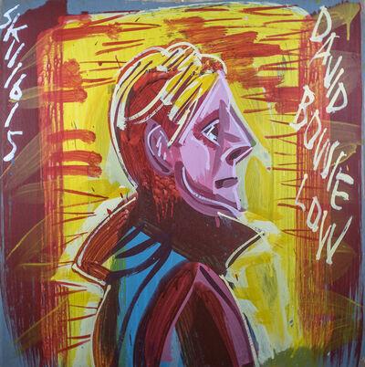 Steve Keene, 'David Bowie - Low', 2015