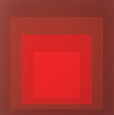 "Josef Albers, 'Homage to the Square: R-I D-5 (from ""Albers"")', 1971"
