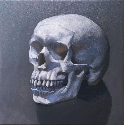 Thomas John Carlson, 'Still Life (skull left)', 2020