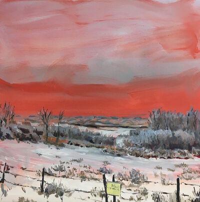 Rebecca Perehudoff, 'Red Sky ', 2017