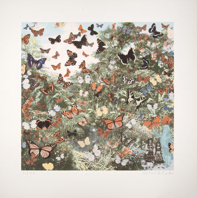 Peter Blake, 'Hyde Park - Positively The Last Appearance Of The Butterfly Man', 2012