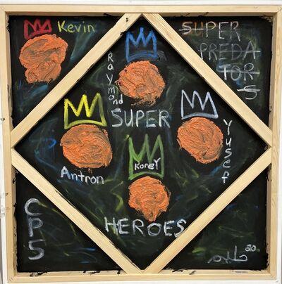 Halim Flowers, 'CP5: Superheroes Not Superpredators', 2020