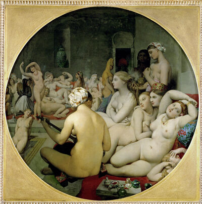 Jean-Auguste-Dominique Ingres, 'The Turkish Bath', 1862