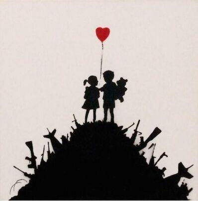 Banksy, 'Kids on Guns', 2004