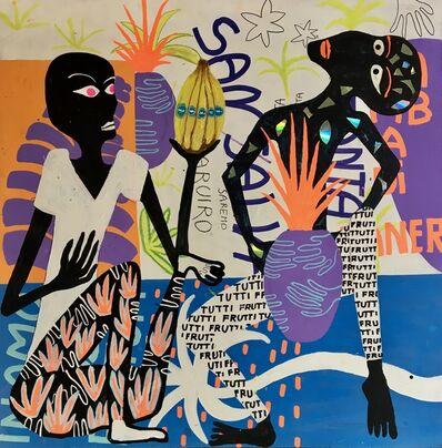Frantisek Florian, 'African Figures 4', 2019