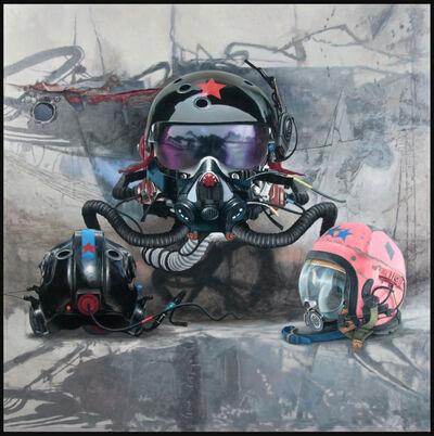 PABLO SANTIBÁÑEZ SERVAT, 'Helmets III', 2018