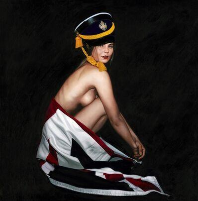 Frank E Hollywood, 'Union Jack ', 2019