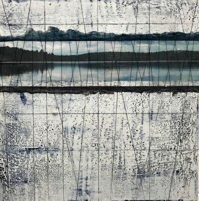 Ava Roth, 'Encaustic Sewing, Lake Reflection', 2018